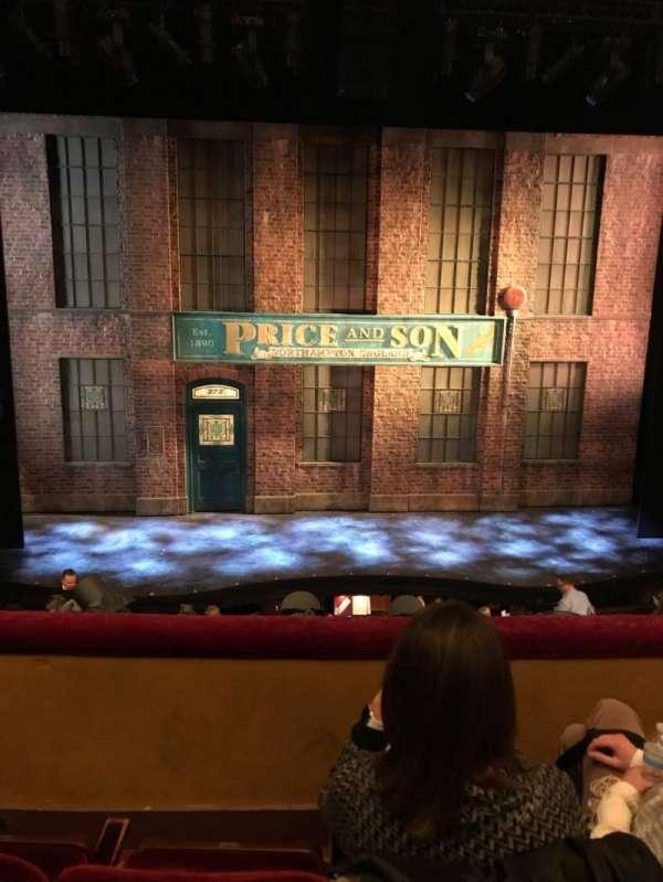 Al Hirschfeld Theatre, section: MezzC, row: C, seat: 110