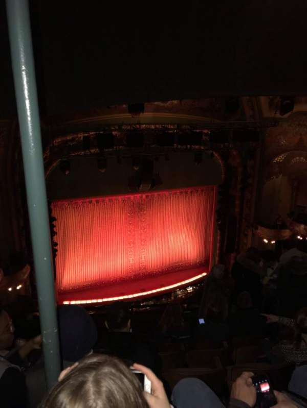 New Amsterdam Theatre, section: Balcony L, row: G, seat: 11