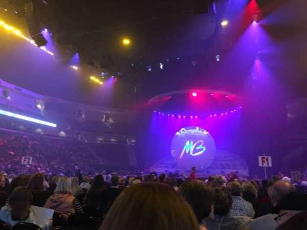 infinite energy arena, section: Floor 4, row: Q, seat: 1
