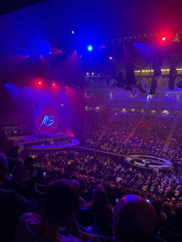 Infinite Energy Arena, section: 118, row: Y, seat: 7