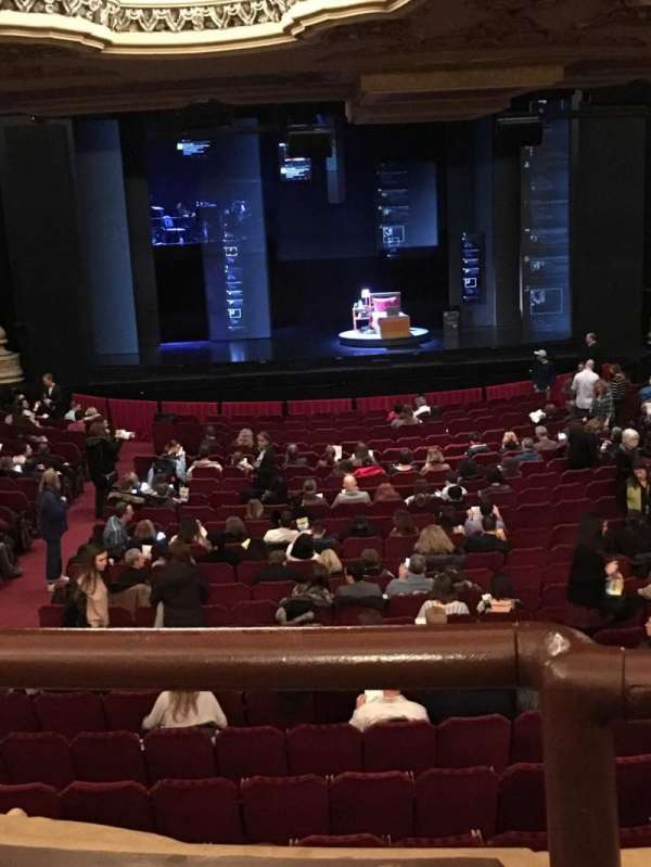 Nederlander Theatre (Chicago), section: Dress Circle C, row: A, seat: 202