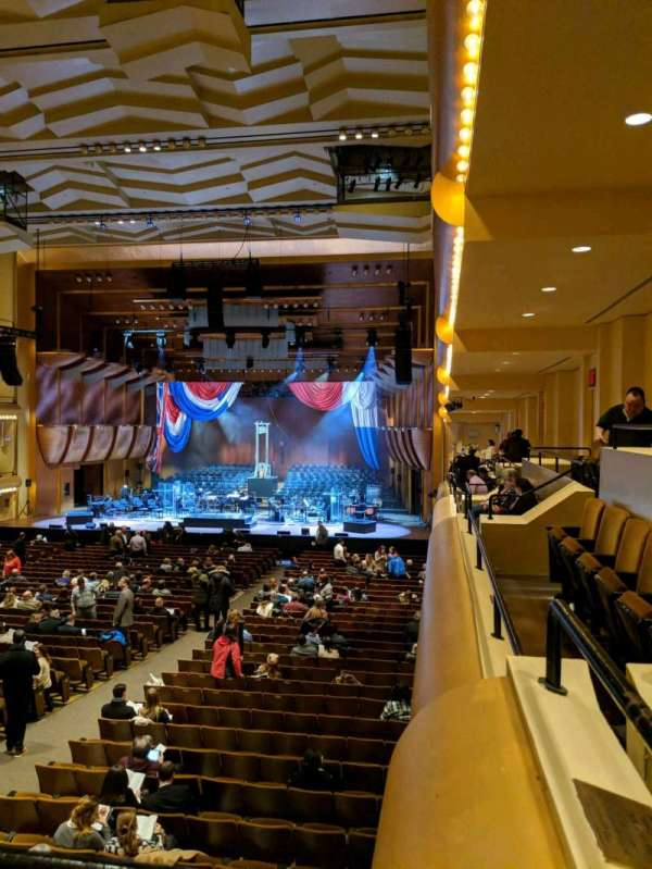 David Geffen Hall, section: First Tier, row: AA, seat: 22