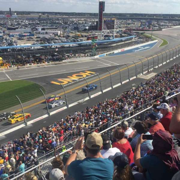 Daytona International Speedway, section: 365, row: 5, seat: 20