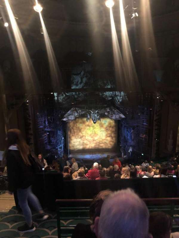 Apollo Victoria Theatre, section: Dress Circle, row: R, seat: 30