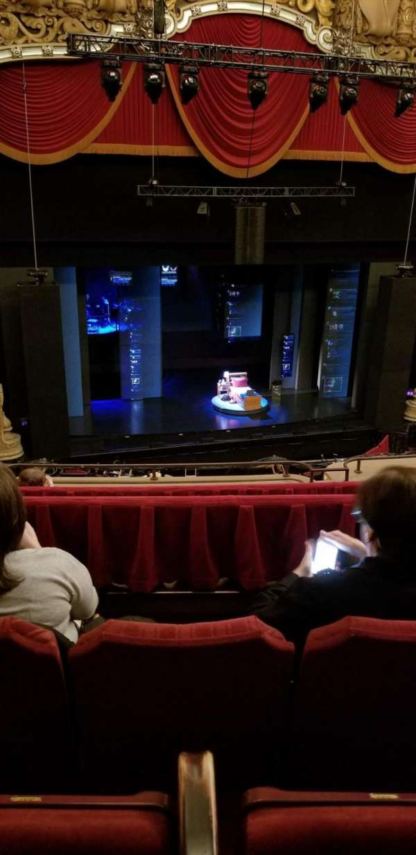 James M. Nederlander Theatre, section: Balcony LC, row: G, seat: 337-339