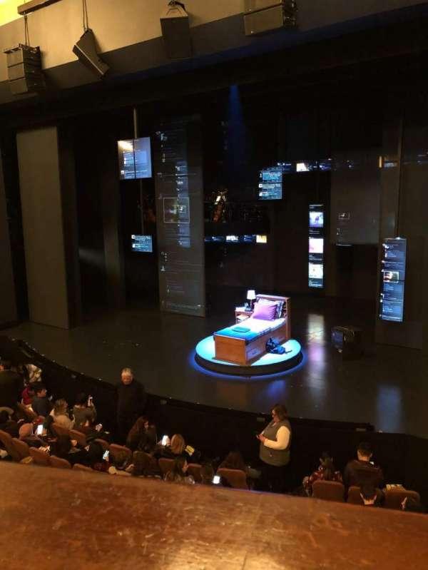 Music Box Theatre, section: Mezzanine R, row: A, seat: 12