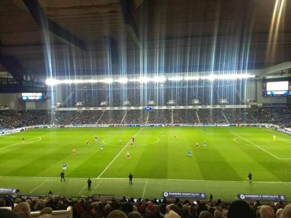 Ibrox Stadium, section: Main stand rear, row: A, seat: 131