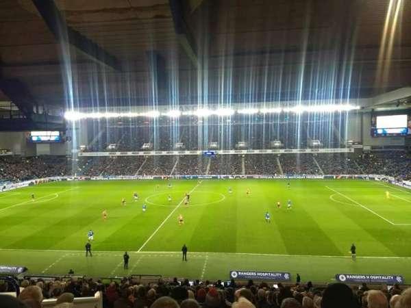 Ibrox Stadium, section: MRD, row: A, seat: 131