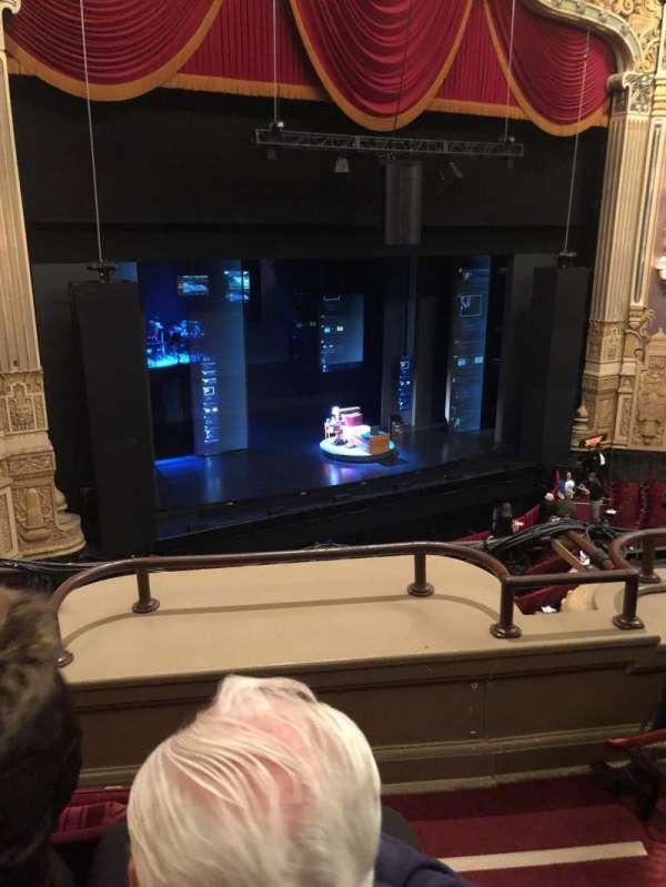 James M. Nederlander Theatre, section: LOGE L, row: C, seat: 353