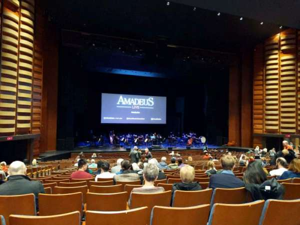 Meridian Hall, section: orch, row: V, seat: 24