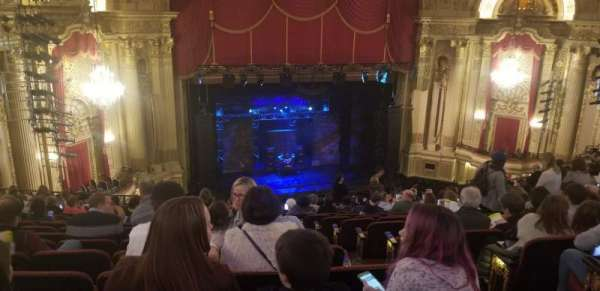 Citizens Bank Opera House, section: MEZLFT, row: O, seat: 5