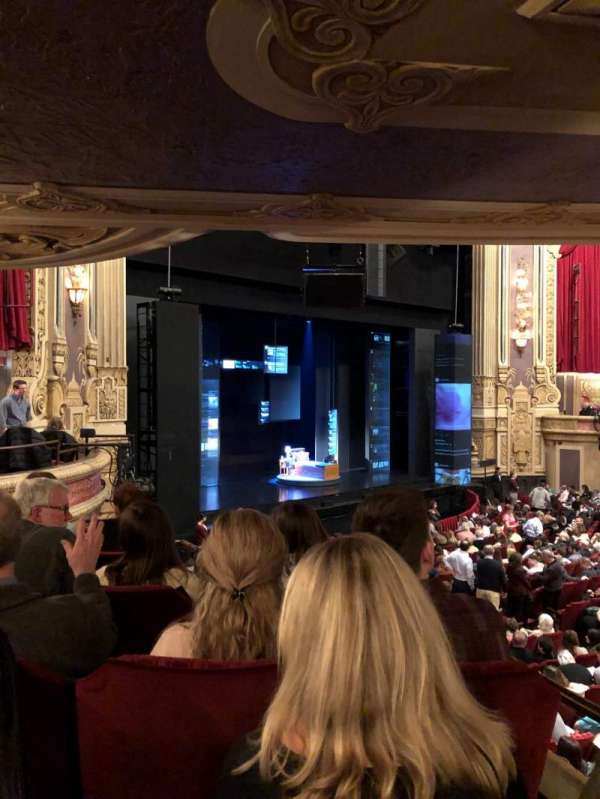 James M. Nederlander Theatre, section: Dress Circle L, row: EE, seat: 7