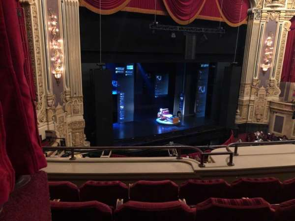 James M. Nederlander Theatre, section: Loge L, row: D, seat: 363