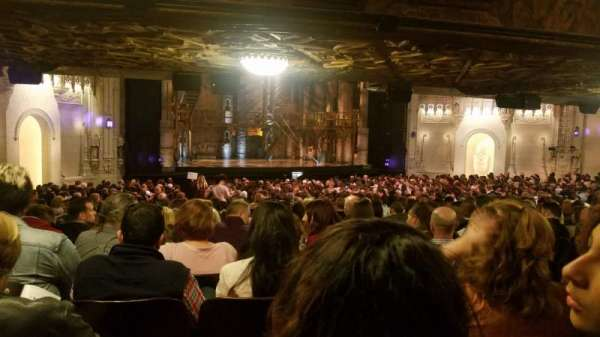 Orpheum Theatre (San Francisco), section: Orchestra L, row: EE, seat: 13