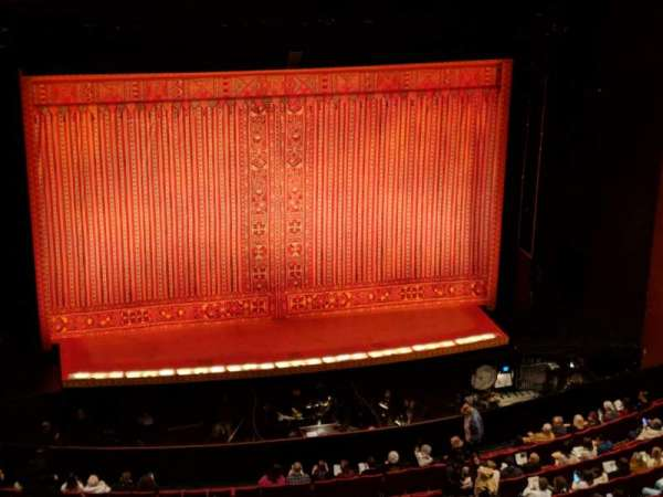 San Diego Civic Theatre, section: RBLCL2, row: O, seat: 19
