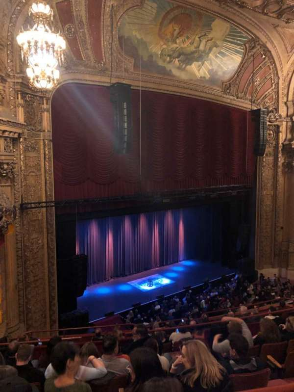 Chicago Theatre, section: Balcony1L, row: F, seat: 113