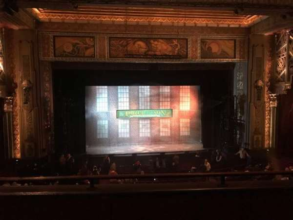 Hollywood Pantages Theatre Section Mezz Center Row C Seat 112