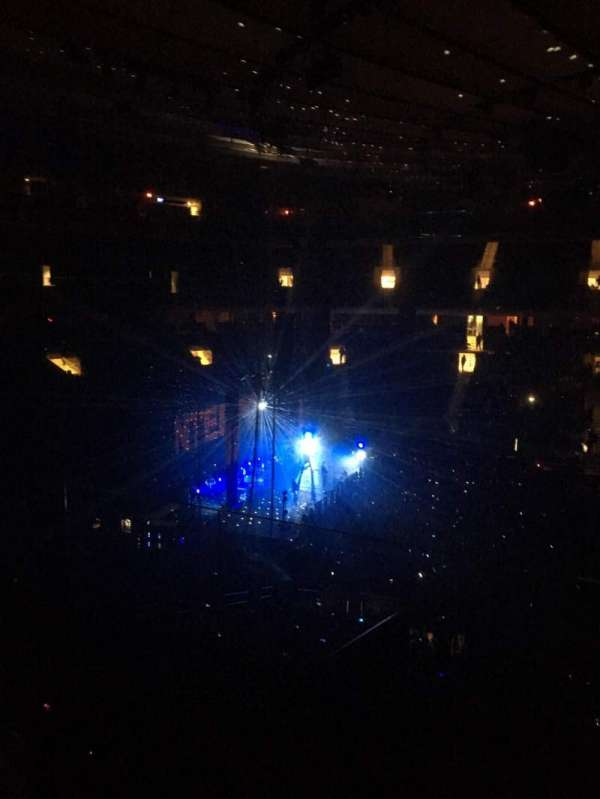 Madison Square Garden, section: 223, row: 4, seat: 20