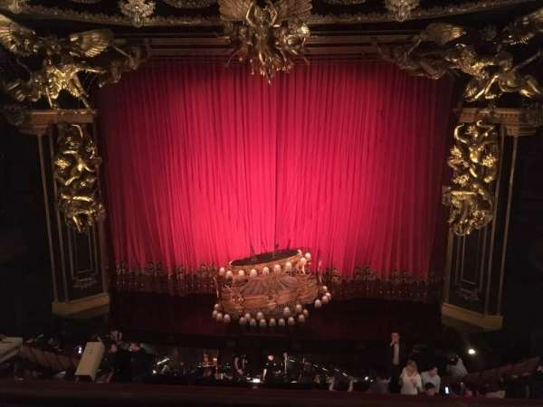 Majestic Theatre, section: Front Mezzanine C, row: B, seat: 110