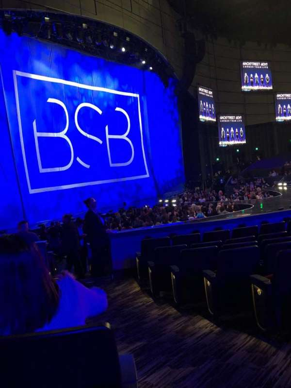 Zappos Theater, section: 105, row: J, seat: 2