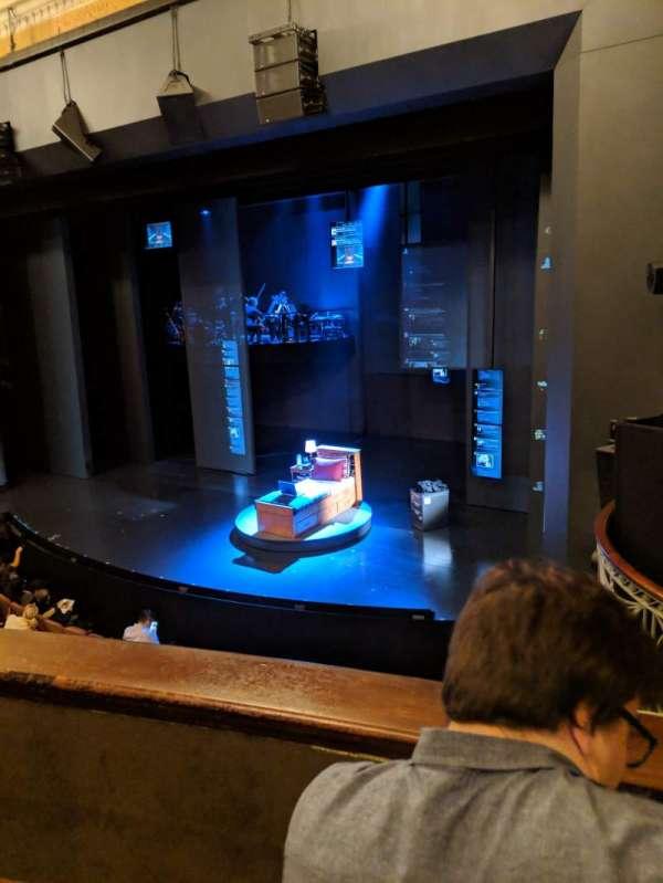 Music Box Theatre, section: Mezzanine R, row: B, seat: 18