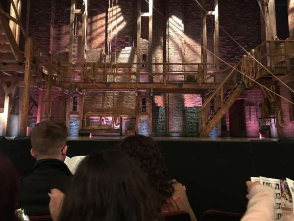 Richard Rodgers Theatre, section: ORCH, row: B, seat: 108