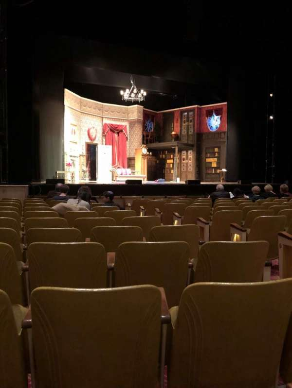 Fisher Theatre, section: Main Floor, row: K, seat: 7