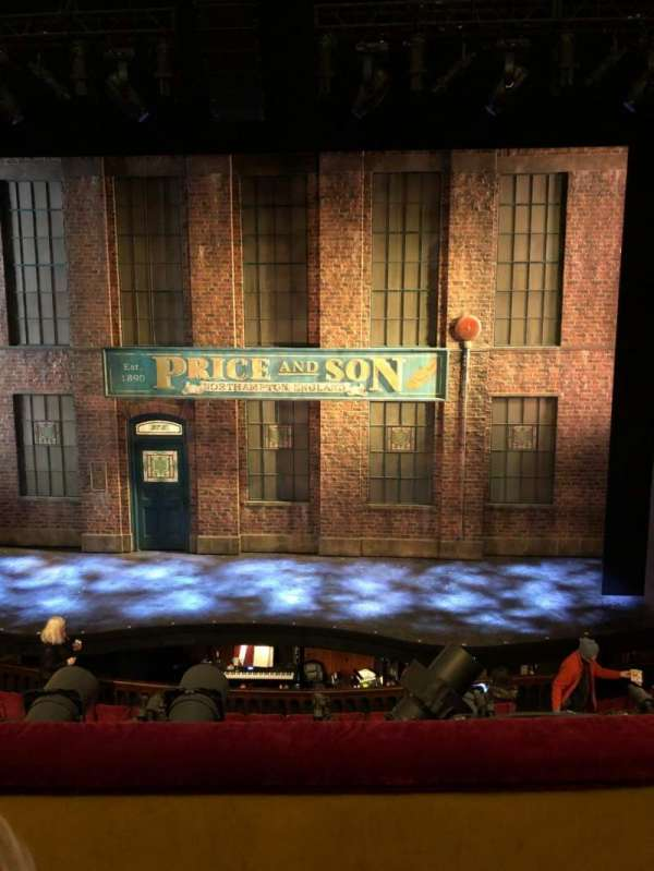 Al Hirschfeld Theatre, section: Mezzanine C, row: B, seat: 105