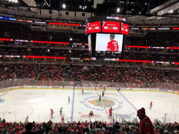 United Center, section: 201, row: 7, seat: 11