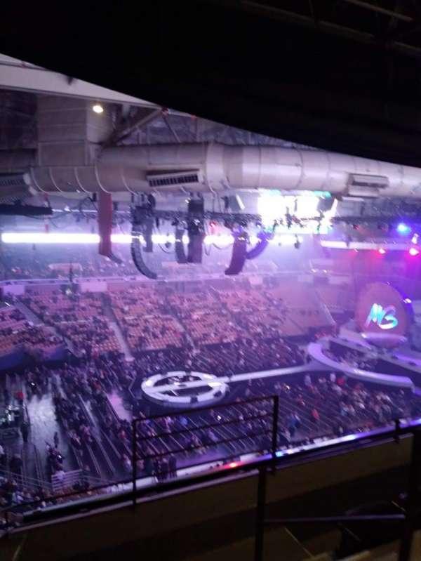 DCU Center, section: 335, row: D, seat: 6