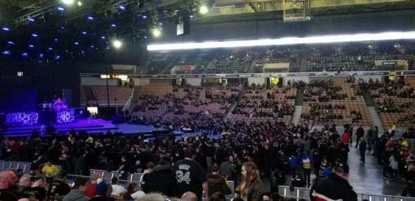 DCU Center, section: 107, row: D, seat: 12