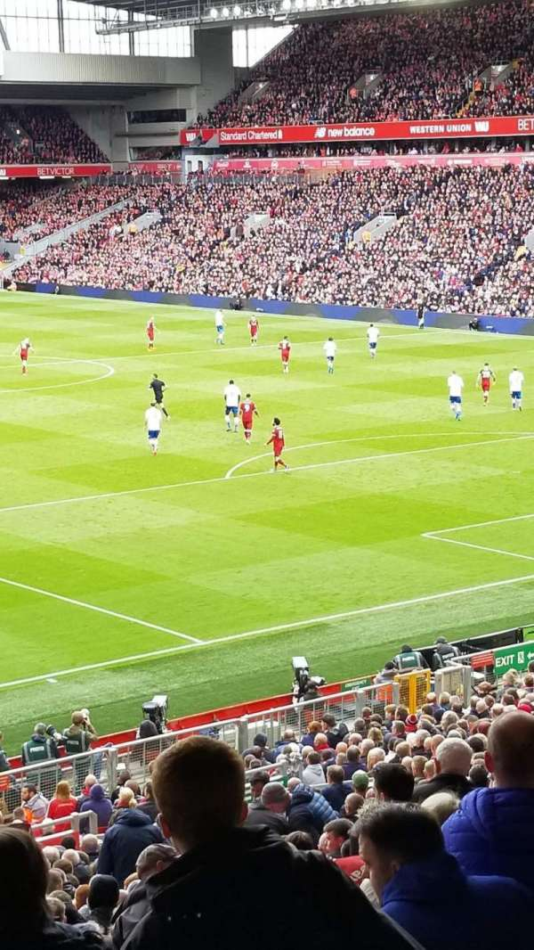 Anfield, section: 203, row: 3