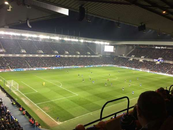 Ibrox Stadium, section: CD7, row: E, seat: 0318