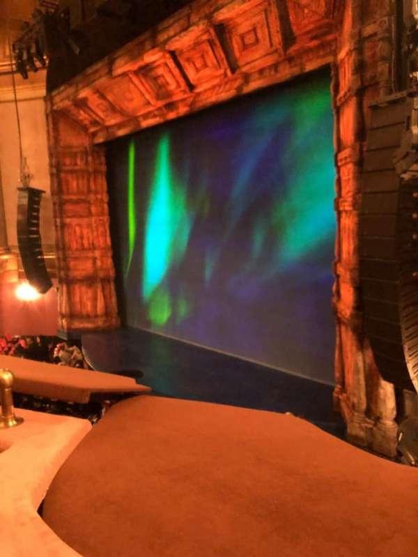 St. James Theatre, section: Mezzanine R, row: B, seat: 30