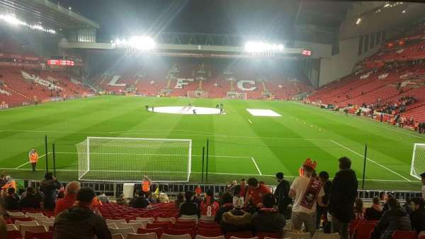 Anfield, section: 124, row: 28, seat: 96
