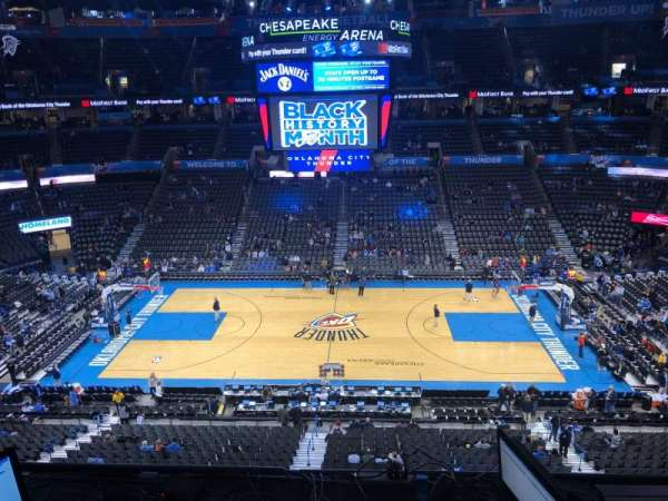 Photos At Chesapeake Energy Arena