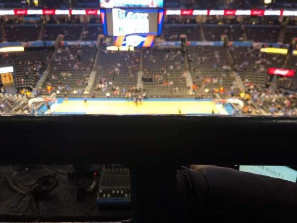 Chesapeake Energy Arena, section: 323, row: C, seat: 6