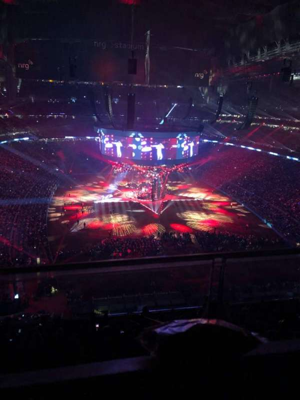 NRG Stadium, section: 623, row: A, seat: 19