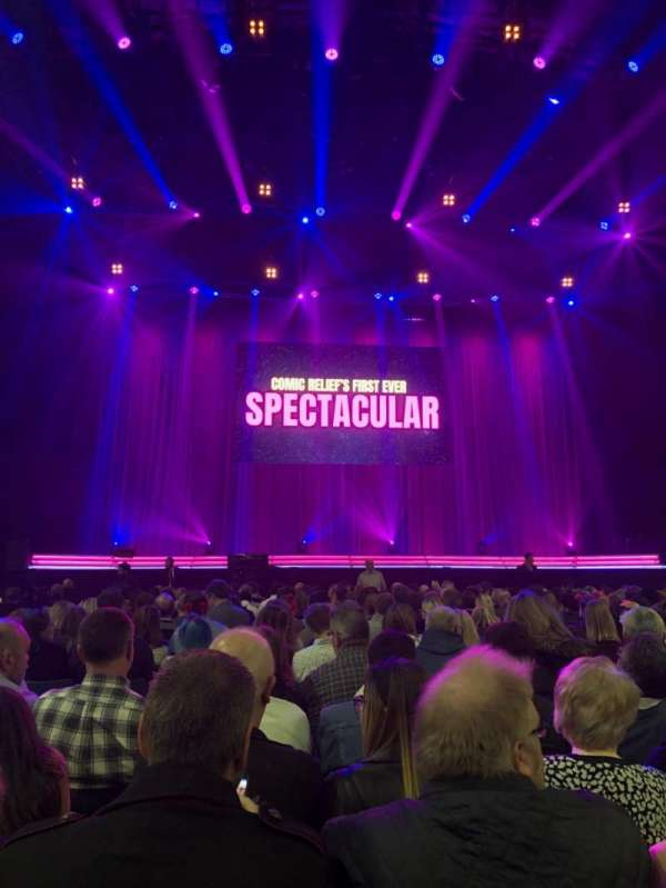 SSE Arena, Wembley, section: A3, row: 19, seat: 35