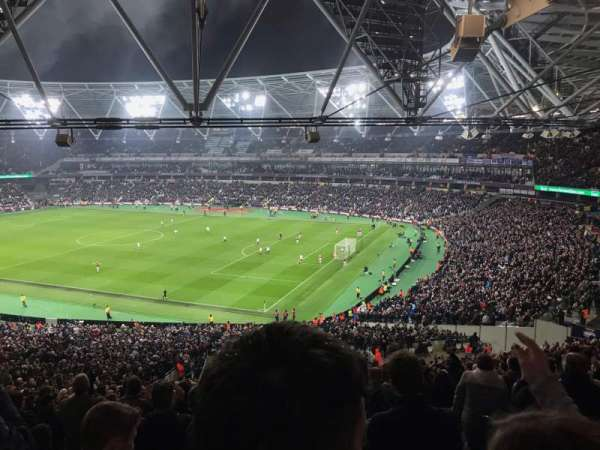 London Stadium, section: 242, row: 50