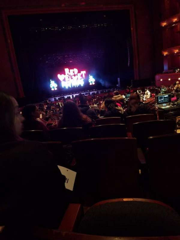Prudential Hall at the New Jersey Performing Arts Center, section: Grand Tier, row: E, seat: 3