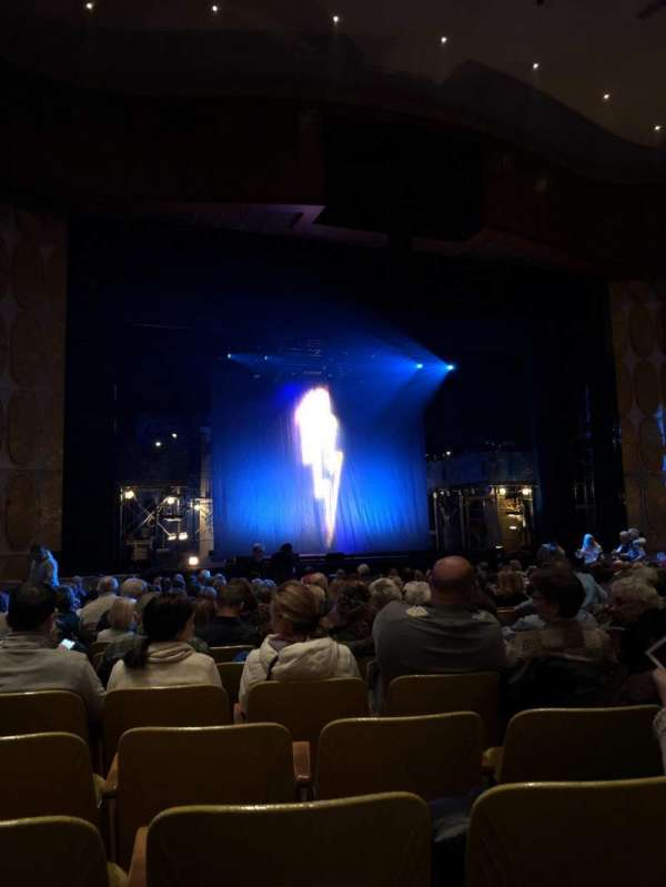 Fisher Theatre, section: Main left, row: S, seat: 11