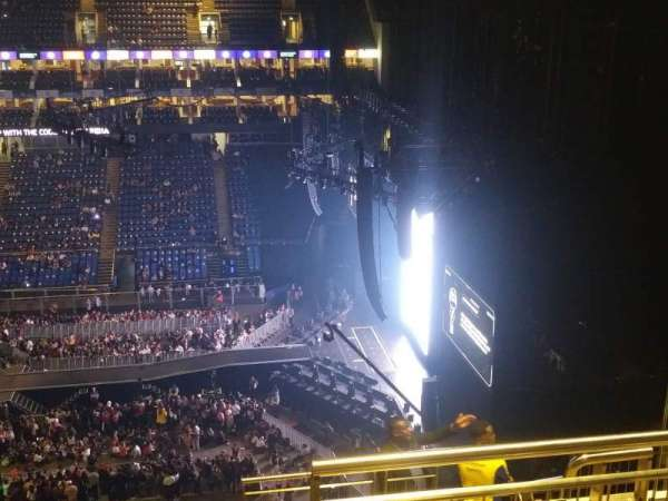 The O2 Arena, section: 421, row: K, seat: 12