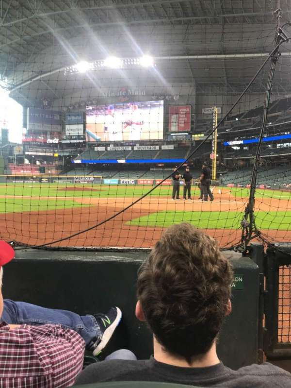 Minute Maid Park, section: AA, row: 2, seat: 6