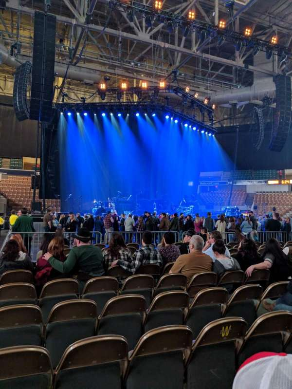DCU Center, section: Floor 3, row: L, seat: 16