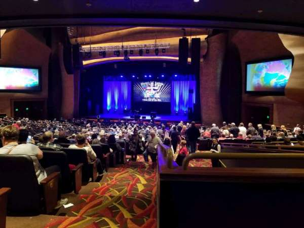 The Grand Theater at Foxwoods, section: PRTCTR, row: KK, seat: 140