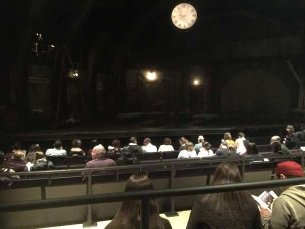 The Newman Mills Theater, section: Orchestra, row: H, seat: 3