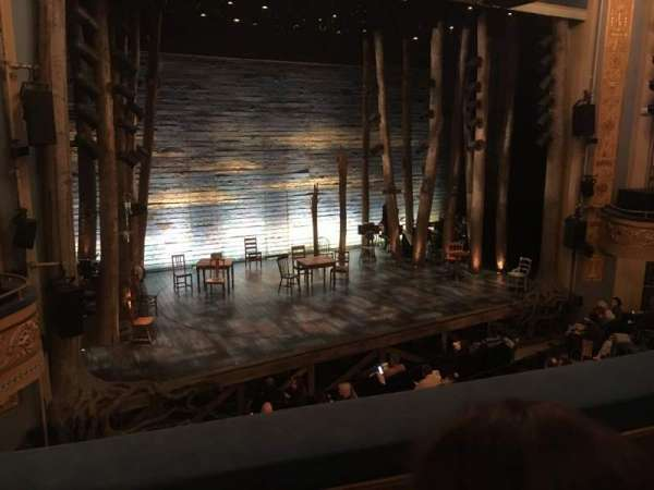 Gerald Schoenfeld Theatre, section: Mezz, row: B, seat: 9