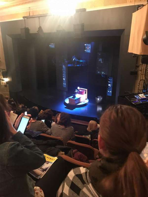 Music Box Theatre, section: Mezzanine R, row: F, seat: 26