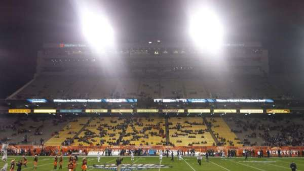 Sun Devil Stadium, section: 30, row: 10, seat: 3